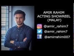 Amir Rahim Showreel 2018 (Malay) - YouTube