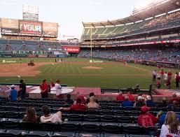 Angel Stadium Of Anaheim Section 112 Seat Views Seatgeek