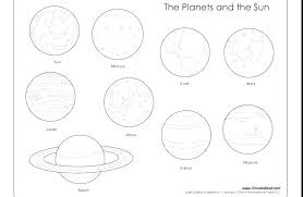 Solar System Colouring Pages Solar System Color Pages With Solar