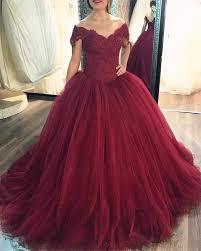 wine red wedding. vintage lace off the shoulder wine red wedding dress 2017 alinanova