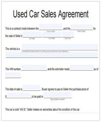 A vehicle sales contract with seller financing allows car dealers to give a buyer credit for purchasing a car. Vehicle Agreement Templates Google Docs Ms Word Pages Pdf Free Premium Templates