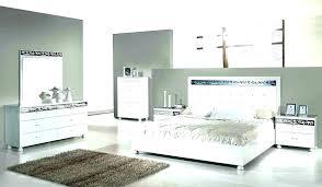 Modern White Bedroom Furniture Sets
