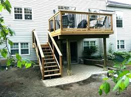 covered deck ideas. Brilliant Deck Covered Deck Plans Second Floor Porch Design Ideas Home  Story With Covered Deck Ideas