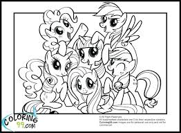 Twilight Sparkle Free Coloring Pages My Little Pony Applejack