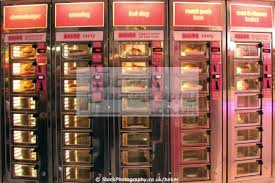 Cheeseburger Vending Machine Custom Hot Food Vending Machine New York City