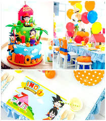 Dragon Ball Z Decorations Dragon Ball Z Decorations Dragon Ball Themed Birthday Party Via 13