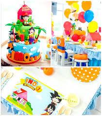 Dragon Ball Z Decorations Dragon Ball Z Decorations Dragon Ball Themed Birthday Party Via 13