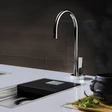 Dornbracht Tara Kitchen Faucet Chromed Metal Mixer Tap Electronic Kitchen 1 Hole Water