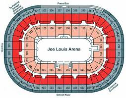 Joe Louis Arena Seating Chart With Rows General Path Actually Noticeably Hold However Smallest A