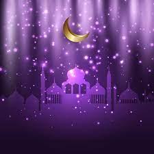 eid al adha Hintergrund mit Moscheen und leuchtenden Lichtern 1216167  Vektor Kunst bei Vecteezy