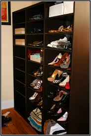 Build In Shoe Cabinet How To Build A Shoe Shelf With Angled Shelves Hemnes Bench With