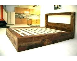 Rustic Wood King Size Bed Frame Rustic King Size Bed Frame Build ...