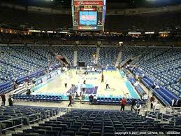 Smoothie King Center Basketball Seating Chart Smoothie King Center Seat Views Section By Section