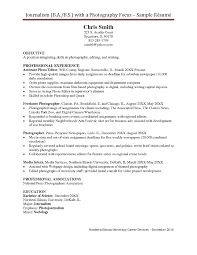 Freelance Photographer Resume Examples Photographer Resume Template