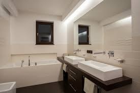 bathroom strip lighting. Strip Recessed Lighting Bathroom Light Fixtures \u2013 25 Contemporary Wall And Ceiling Lamps