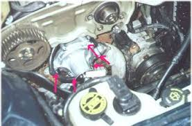 Installing a New Water Pump on a '95 Ford Taurus  10 Steps additionally  besides 1997 Ford Taurus Coolant Leak at Block by Water Pump in addition  likewise Lower Radiator Hose additionally  together with  as well How to Install a Water Pump   Ford 3 0L V6 FWD WP 9038 AW4094 furthermore Motorcraft Car   Truck Water Pumps for Ford Taurus   eBay additionally Tophersworld likewise Change a water pump1998 Ford Taurus 6 cly  3. on 1994 ford taurus water pump diagram