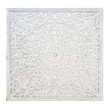 atami wall decorin white wash