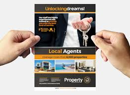 real estate flyer templates real estate flyer template in psd ai vector brandpacks