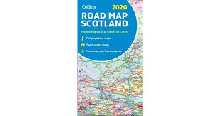 2020 Collins Map Of Scotland By Collins Maps 9780008318741 2019 Non Fiction Travel Maps Atlases