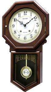 colonial chiming wall clock