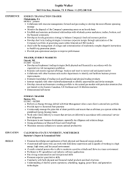 Sample Traders Resume Energy Trader Resume Samples Velvet Jobs 6
