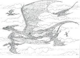Printable Dragons Coloring Pages Free Printable Dragon Coloring