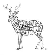Deer Meat Chart Venison Chart Farm