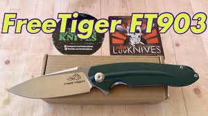 <b>FreeTiger</b> FT903 knife / includes disassembly/ The Ganzo ...