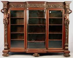 mahogany bookcases for antique furniture bookcase decorating cozy with glass doors in addition to 19