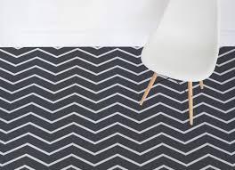 serpentine thin chevron vinyl flooring black room vinyl