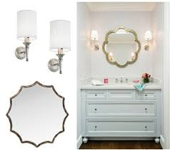 bathroom mirror chrome. Inspiring Bathroom Mirror Chrome With Glamorous Mirrors And Sconces In Bathrooms Home A