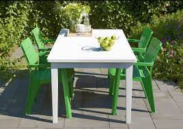 6 seaters patio dining table white