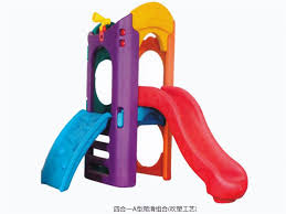 toddler outdoor plastic play slide four in one in kindergarten and preschool
