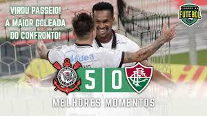 Corinthians 5 x 0 Fluminense | Melhores Momentos | Brasileirão 13/01/2021 -  YouTube