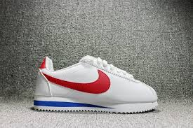 perfect nike wmns classic cortez leather white varsity red 807471 103 women s men s running shoes fashion sneakers