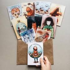envelope ilration art drawing watercolors cover cute nice