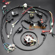 complete electrics atv quad 150cc 200cc 250cc 300cc solenoid cdi complete electrics atv quad 150cc 200cc 250cc 300cc solenoid cdi coil regulator wiring harness zongshen lifan