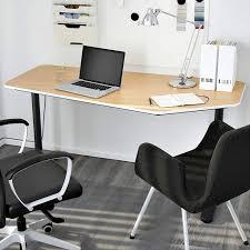 office furniture idea. ikea bekant 5sided desk for office furniture idea