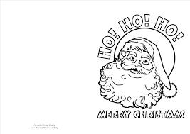 Black And White Printable Christmas Cards Merry Christmas Happy