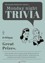 trivia night flyer templates trivia night flyer template 13 best trivia head the quiz head images