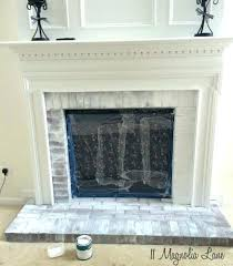 whitewash red brick fireplace white brick fireplace whitewashed brick fireplace white mantle red brick fireplace