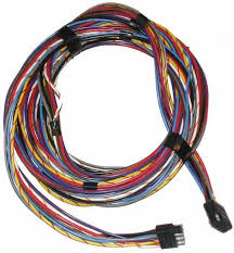 engine wiring harnesses for mercruiser sterndrives marine engine wiring harness wire harness square male to square female 8 pin 20 feet marine color coded