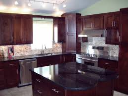 Cherry Shaker Kitchen Cabinets Solid Hardwood Doors And Face Frames