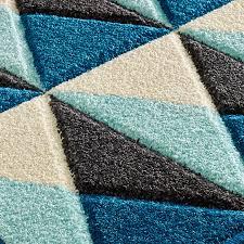 Portland 6994 Q Blue/ Grey/ Cream Rug by Oriental Weavers
