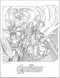 Small Picture Color Up Avengers 2012 Coloring Pages Jimmer Pinterest