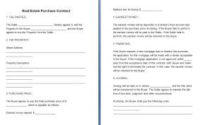Free Printable Real Estate Sales Contract 24 Images Of Real Estate Contract Template Leseriail 21