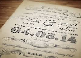 Vintage Invitation Template Mesmerizing Vintage Wedding Invitation Template Inspiks Market