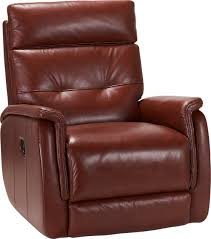red leather reclining chair. recliner · cindy crawford home adelino red leather reclining chair
