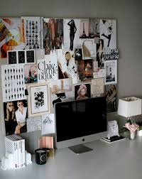 office pinboard. love a desk space that features vision board small shop by erika brechtel for style me pretty photo bryce covey office books roses pinboard black