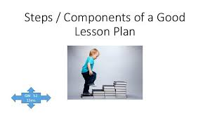 Step 1 Objectives And Goals General Specific Components Of A Good ...